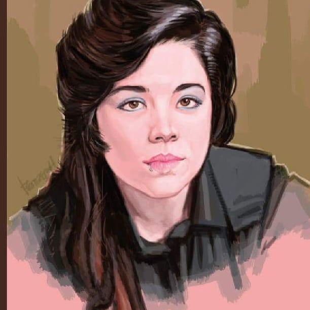 portrait by jorge R